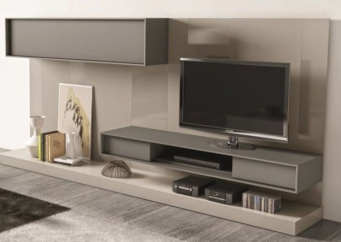 217 Composition Natural Lacquer Wall Unit