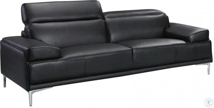 Nicolo Black Living Room Set