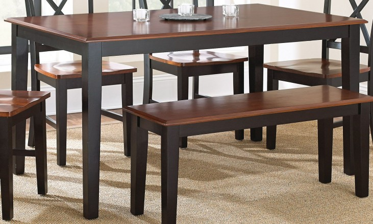 Kingston Medium Oak Rectangular Dining Table