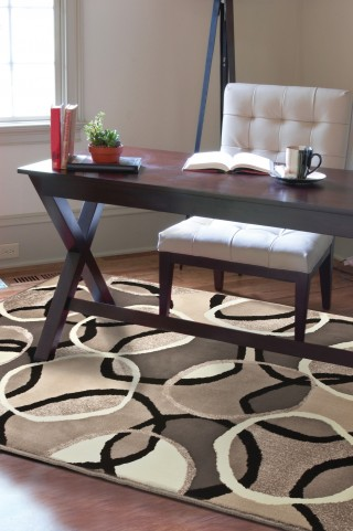 "Nuance Halo Multi Small 65"" Rug"