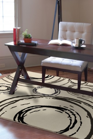 """Nuance Centric Lambswool Large 130"""" Rug"""