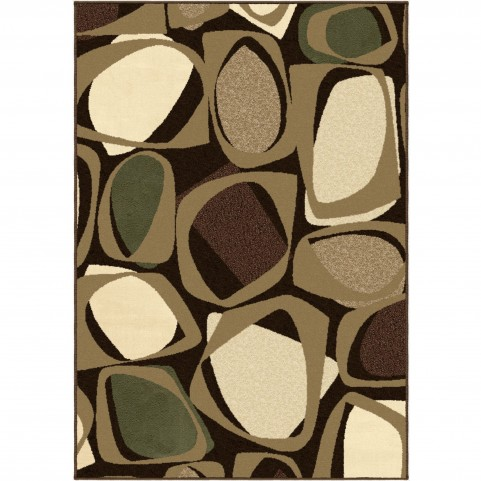 Abstract Optical Mink Large Rug