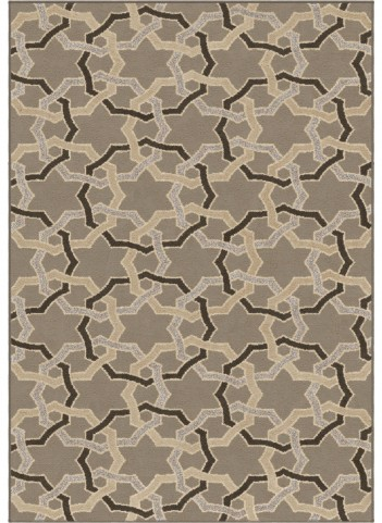 Orian Rugs Trendy Colors Rings Davidson Gray Area Small Rug