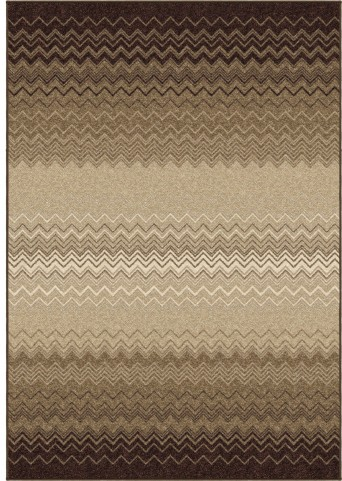Nuance Trendy Colors Chevron Zig Zag Chevron Taupe Large Area Rug
