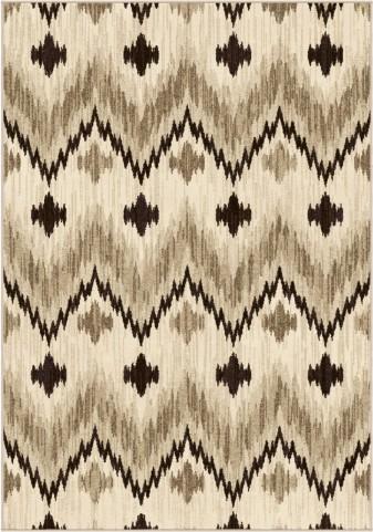 Orian Rugs Trendy Colors Chevron Princeton Beige Area Large Rug