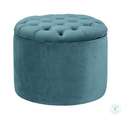 Terrific Queen Sea Blue Velvet Storage Ottoman Bralicious Painted Fabric Chair Ideas Braliciousco