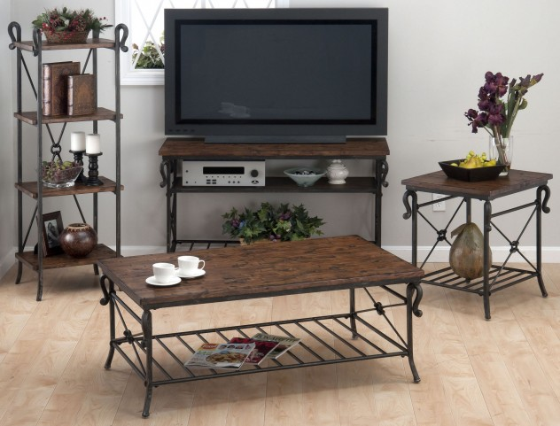 Rutledge Pine Occasional Table Set