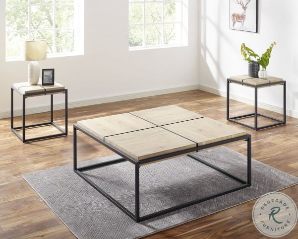 Oaklee Natural Honey Coffee Table