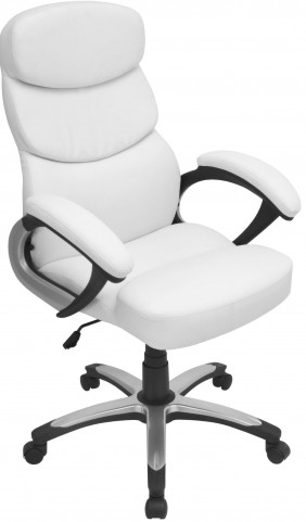 Doctorate Office White Chair
