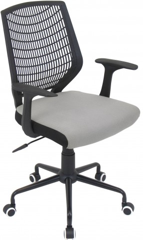 Network Silver Office Chair