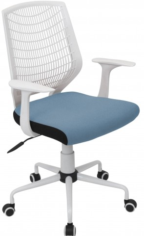Network Smoked Blue Office Chair