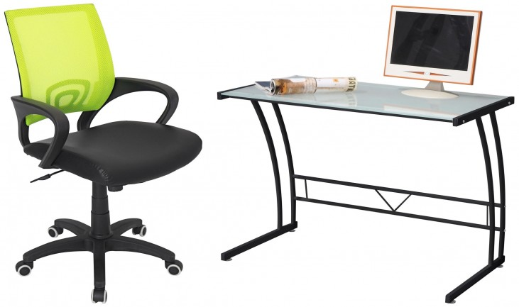 Sigma Black Home Office Set