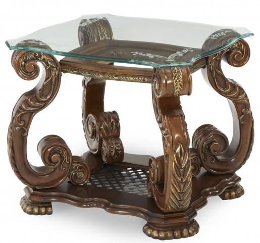 Oppulente Sienna Spice End Table