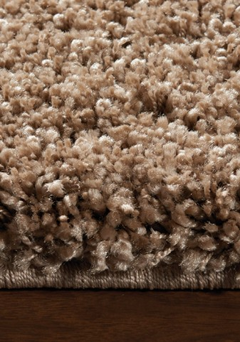 Opus Luxurious Light Brown Shag Medium Rug
