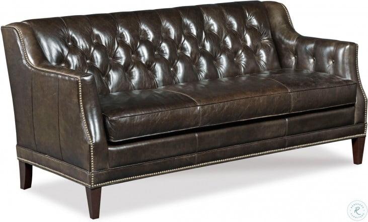Phenomenal Austin Brown Leather Sofa Customarchery Wood Chair Design Ideas Customarcherynet