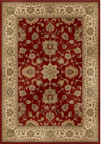 American Heirloom Borokan Burgundy Large Area Rug