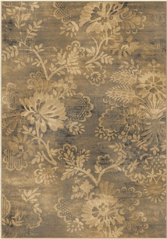 Orian Rugs Modern Design Floral Milan Cream Area Large Rug