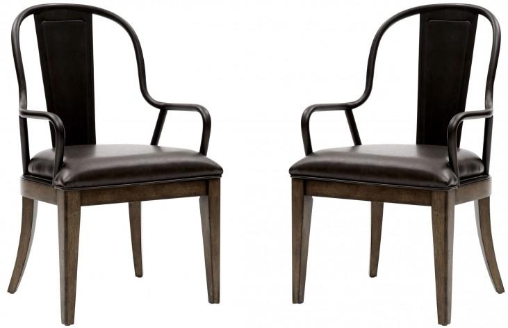 Weston Loft Arm Chair Set of 2