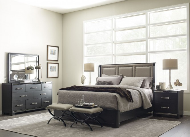 Sounds Black Platform Bedroom Set by Eric Church