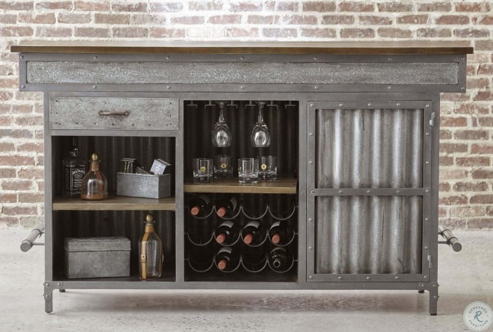 Stonehill Bar Cabinet From Pulaski Coleman Furniture