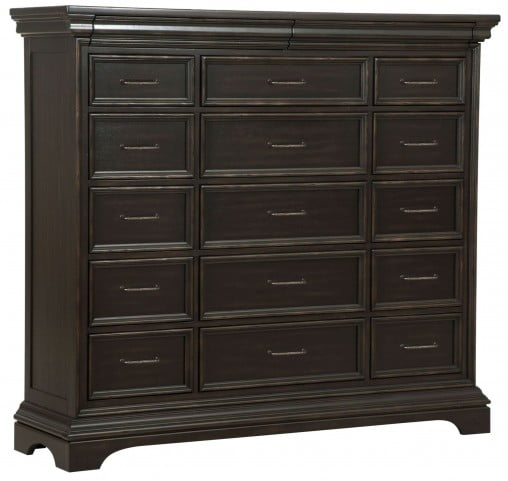Caldwell Brown 17 Drawers Master Chest