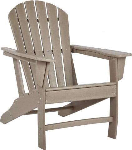 Sundown Treasure Grayish Brown Outdoor Adirondack Chair