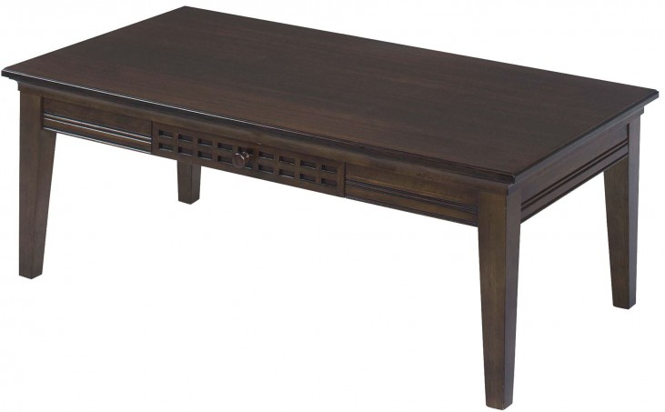 Casual Traditions Walnut Cocktail Table