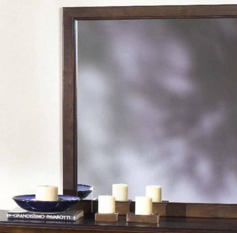Casual Traditions Walnut Mirror