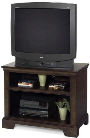 Casual Traditions Walnut TV Stand