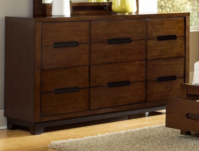 Portland Nutmeg Drawer Dresser