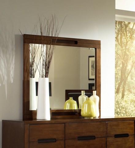 Portland Nutmeg Drawer Mirror