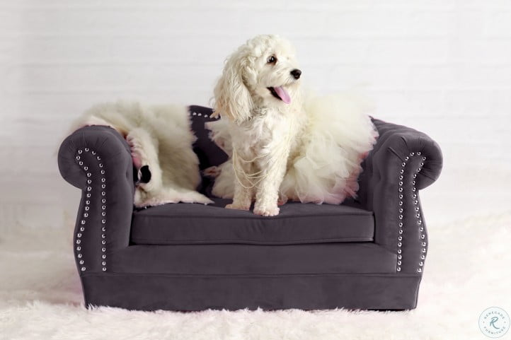 Yorkshire Gray Pet Bed