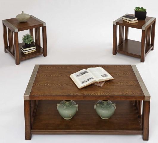 Mason Hills Medium Ash Occasional Table Set