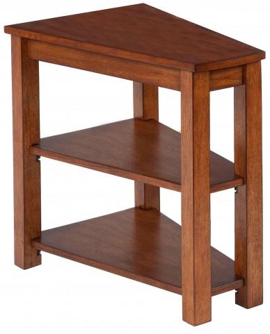 Chairsides Birch Veneer Shelf Chairside Table