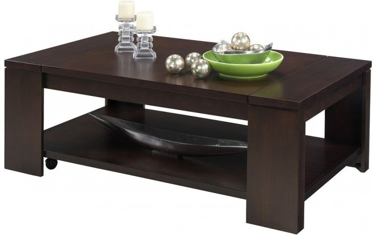 Waverly Vintage Walnut Lift-Top Cocktail Table
