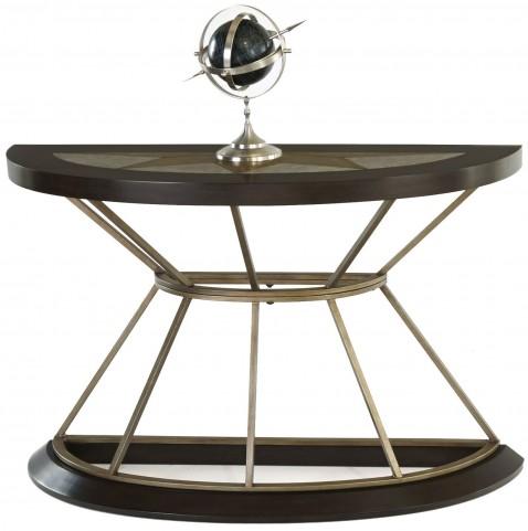 Stargaze Concrete Demilune Sofa Table