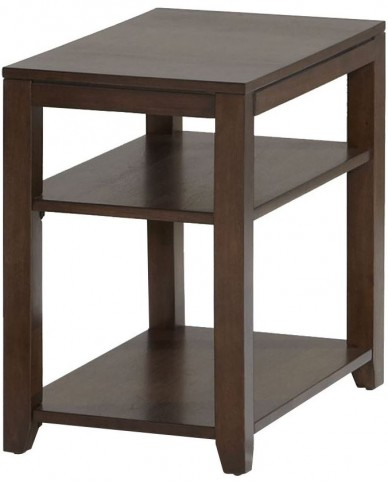 Daytona Regal Walnut Chairside Table
