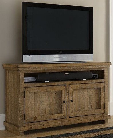 """Willow Distressed Pine 54"""" Console"""