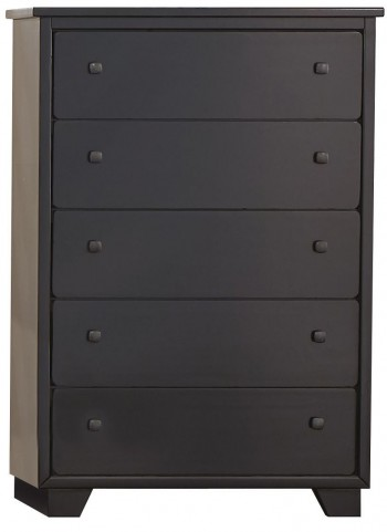 Diego Black Drawer Chest