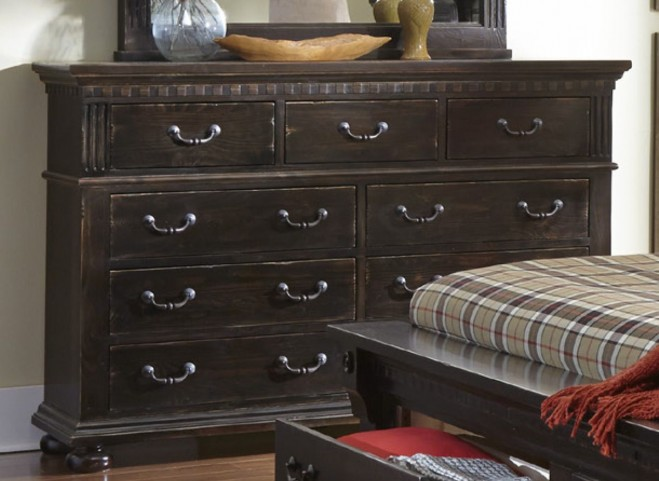 La Cantera Tobacco Drawer Dresser