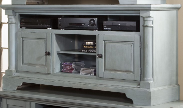 """Gramercy Park Mineral Gray 64"""" Console"""