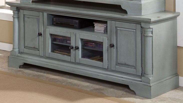 """Gramercy Park Mineral Gray 74"""" Console"""