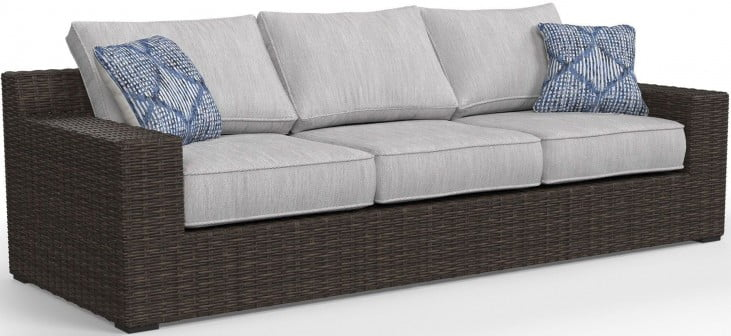 Alta Grande Beige Outdoor Sofa With Cushion