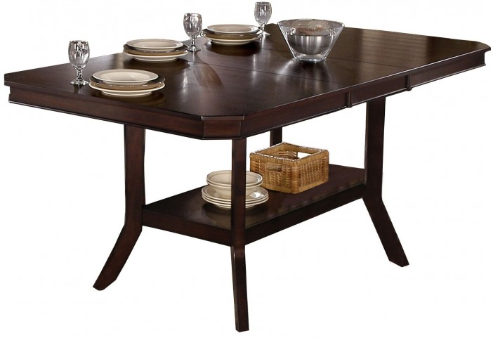 Bobbie Dark Espresso Counter Height Dining Table