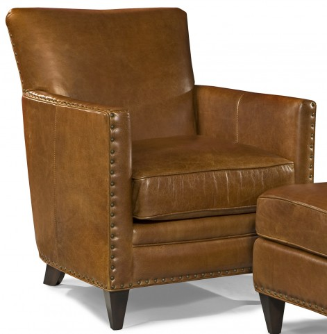 Logan Trends Coffee Leather Chair