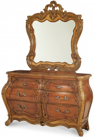 Palais Royale Double Dresser with Mirror