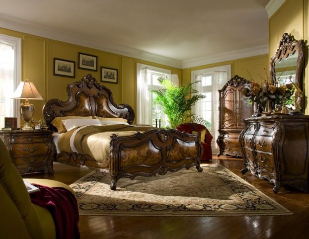 Palais Royale Panel Bedroom Set