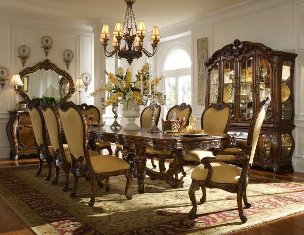 Palais Royale Rectangular Extendable Dining Room Set