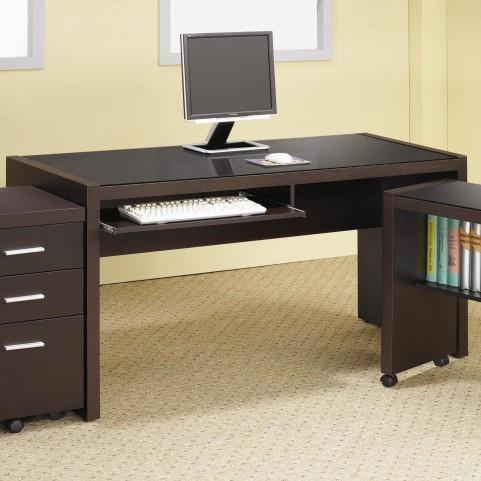 Skylar Cappuccino Large Desk