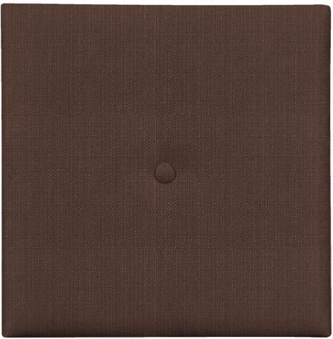"""Sterling Chocolate 1"""" Wall Pixel I with Button"""